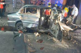 سانحه رانندگی در تبریز، دو کشته و سه مصدوم برجای گذاشت
