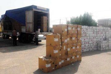 قاچاقچیان پوشاک و غذای پرندگان بیش از ۲۹۸ میلیارد ریال جریمه شدند