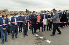 افتتاح و کلنگ زنی سه پروژه عمرانی و خدماتی در شهرستان اهر