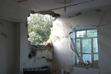 اصابت مجدد راکت جنگی به یک واحد مسکونی روستایی در شهرستان خداآفرین
