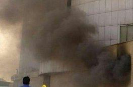 آتشسوزی در برج شهر تبریز، ۱ مصدوم برجای گذاشت