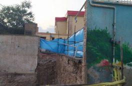 تخریب شبانه دیوار مدرسهای در تبریز