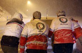 امدادرسانی به ۲۴۵ نفر گرفتار در حوادث جوی طی ۷۲ ساعت