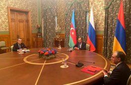 آذربایجان و ارمنستان پس از ۱۰ ساعت مذاکره اعلام آتشبس کردند