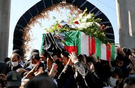 پیکر سرباز وظیفه «ساسان امیرخانی حسینکلو» خاکسپاری شد