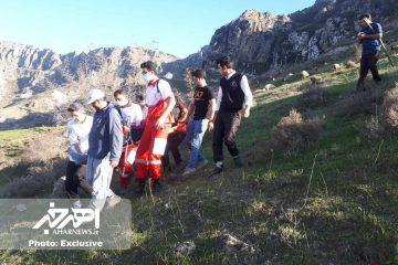 نجات یک کوهنورد آسیب دیده در ارتفاعات کوه یغیلی هوراند