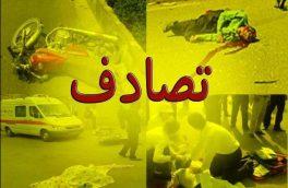 برخورد تریلی با مینی بوس در تبریز، هفت نفر را روانه بیمارستان کرد