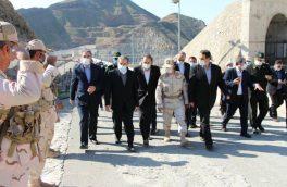 بازدید سید عباس عراقچی از نوار مرزی شهرستان خداآفرین