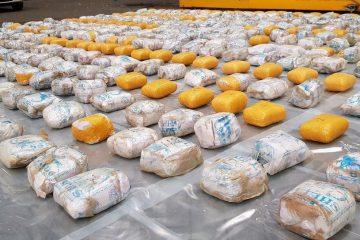 کشف ۵۰۰ کیلوگرم هروئین در تبریز
