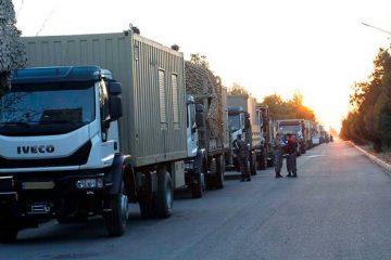 اعزام یگان واکنش سریع پدافند هوایی شمال به نواحی مرزی شمال غرب کشور