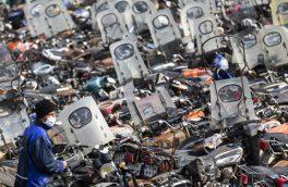 توقیف بیش از ۸ هزار موتورسیکلت در آذربایجان شرقی