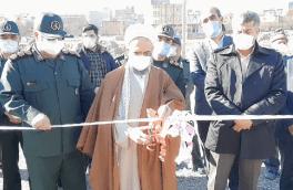 افتتاح طرحهای هفته بسیج در شهرستان اهر