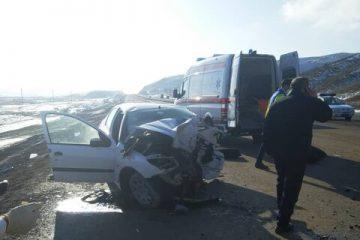"""حادثه رانندگی در محور """"اهر – تبریز"""" ۵ کشته و ۳ مصدوم بر جای گذاشت"""