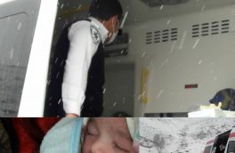 عجله نوزاد کلیبری برای تولد در رندترین روز