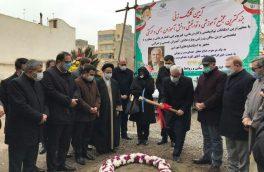 کلنگ احداث مجهزترین مدرسه خیرساز دانش آموزان با نیازهای ویژه در تبریز بر زمین زده شد