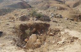 چهار عامل حفاری غیرمجاز در اراضی ارزیل ورزقان دستگیر شدند