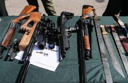 دستگیری ۳۷۶ اراذل و اوباش در آذربایجان شرقی/ کشف ۳۹۱ قبضه قمه و ۵۱ قبضه سلاح جنگی و شکاری