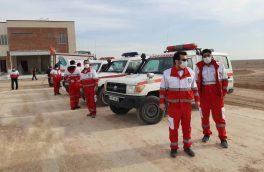 تیم های ارزیاب هلال احمر به منطقه زلزله زده آذربایجان شرقی اعزام شدند