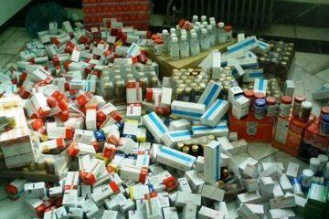کشف انبارهای غیرمجاز انواع دارو و مکمل های دارویی در تبریز