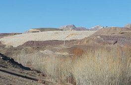 رانش در سد باطله معدن انجرد اهر و نشت مواد معدنی شیمیایی به رودخانه