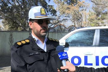 آمادگی پلیس راه برای اجرای ماموریت نوروز ۱۴۰۰