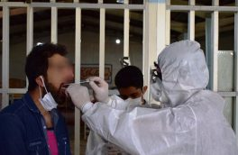 غربالگری کرونا و ویزیت زندانیان اهر توسط گروه جهادی بسیج پزشکی