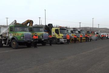 مانور روز حمل و نقل بدون حادثه در آذربایجان شرقی