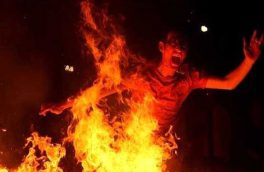 مصدوم شدن ۱۱ نفر بر اثر استفاده از مواد محترقه در آذربایجان شرقی