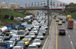 افزایش ۶۲ درصدی تردد خودرو در جاده های آذربایجان شرقی