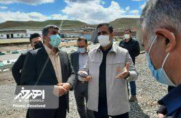 کارخانه آهک هیدراته اهر آماده افتتاح است