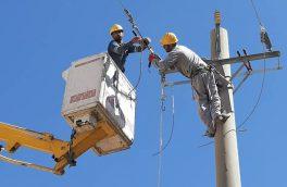 طرح جهادی تعمیرات شبکه های برق خداآفرین اجرا شد