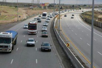 ترددهای برون شهری در محورهای آذربایجان شرقی ۶۵ درصد افزایش یافت