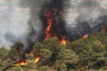 کاهش آتش سوزی در جنگلها و مراتع خداآفرین