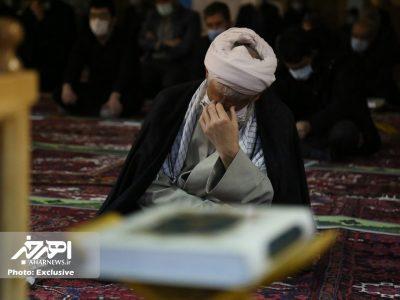 احیاء شب بیست و یکم ماه مبارک رمضان در اهر با رعایت پروتکل های بهداشتی