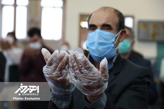 اقامه نماز عید سعید فطر در اهر (۱)