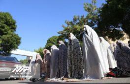 اقامه نماز عید سعید فطر در اهر (۲)