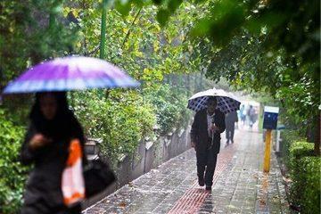 بارش های پراکنده باران آذربایجان شرقی را فرا می گیرد