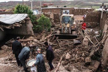 جزییات خسارت سیل و تگرگ در اهر اعلام شد