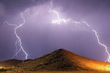تشدید رگبار باران و رعد و برق از بعد از ظهر سه شنبه در آذربایجان شرقی
