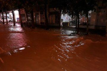 بارش سیل آسا موجب آبگرفتگی ۵۰ واحد مسکونی در اهر شد