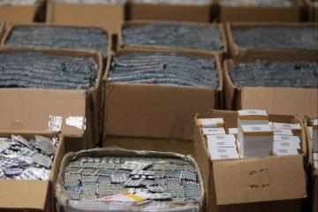 حدود ۴۷ هزار عدد قرص غیرمجاز در آذربایجان شرقی کشف شد