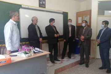 فرایند مصاحبه انتخاب و انتصاب مدیران مدارس اهر در حال برگزاری است