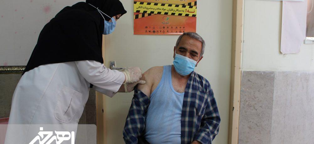 واکسیناسیون کرونا در اهر