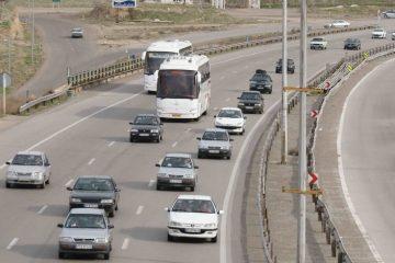 افزایش ۱۱ درصدی تردد خودرو در جاده های آذربایجان شرقی