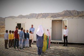 جمع آوری مدارس کانکسی ورزقان با ساخت ۳۴ مدرسه