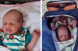 نوزاد رها شده در تبریز به شیرخوارگاه منتقل شد