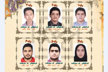اعلام نفرات برتر آزمون سراسری سال ۱۴۰۰/ آذربایجان پیشتاز نفرات برتر کنکور