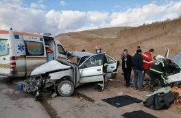 ۱۲ مصدوم در دو سانحه رانندگی در آذربایجان شرقی