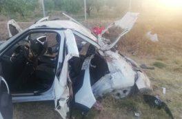 برخورد خودروی ساندرو با الاغ یک کشته و ۴ مصدوم بر جای گذاشت