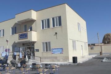 افتتاح مدرسه ۸ کلاسه خیرساز در هریس